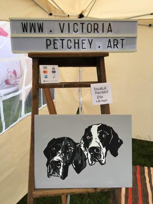 Suffolk Dog Day 2019 Victoria Petchey Art Pet Portrait